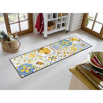 lavagem+tapete de cozinha seco Limoni 60 x 180 cm capacho lavável