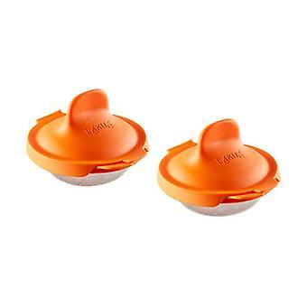 Egg poacher 2 units (Orange)