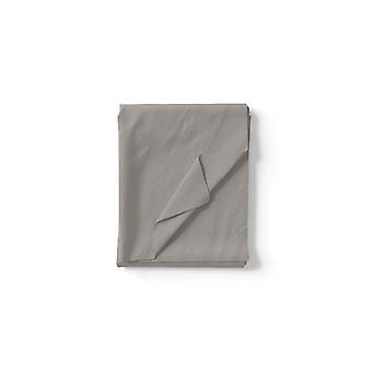 Bomullsgrå två ark, L240xP280 cm