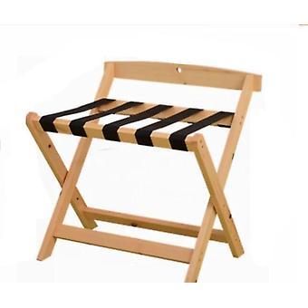 Hotelový skládací nosič zavazadel Masivní dřevo
