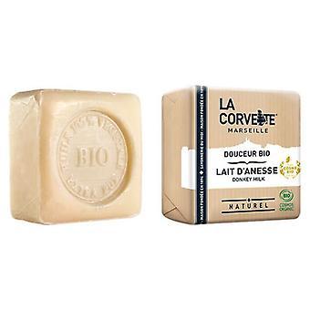 La Corvette Jabón Pastilla Leche de Burra Bio 100 gr