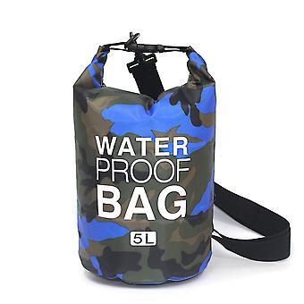 Saco seco à prova d'água flutuante 5L/10L/20L/30L, Saco superior de rolo mantém o equipamento seco para barcos, natação, camping, caminhadas