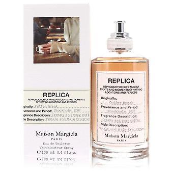 Replica coffee break eau de toilette spray by maison margiela 553191 100 ml