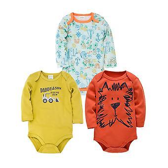 Vastasyntyneet nukkujat Vauva Pyjama 100% Puuvilla Vauva Pyjamat Unisex Pijamas Bebe