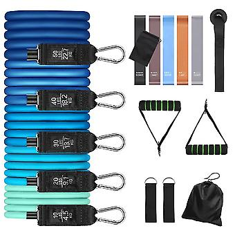 Fitness Resistance Tube Band, Yoga Gym, Stretch Pull Rope, Entraînement d'exercice
