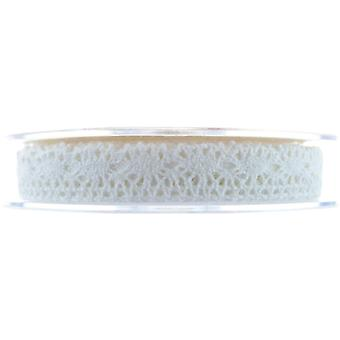 Lace Ribbon Blenheim13mmx10m Ivory No.61