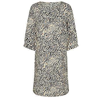 SOYACONCEPT Animal Print Onassis Dress 17301