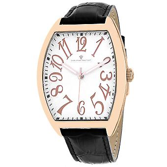 Christian Van Sant Men's Royalty II White Dial Watch - CV0378