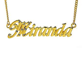 "L Miranda - 18 Karat vergoldet Halskette, 16""- 19"" verstellbare Kette, in Regal Pack"
