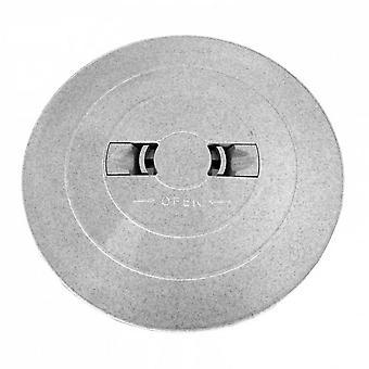 """Astral 05280R0300CL13 9.5"""" Skimmer Deck Lid - Grey for Skimmer"""