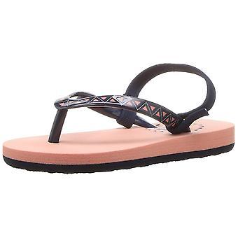Roxy tytöt ' tw Pebbles V Sandal flip-flop, persikat, 8 M meille taapero