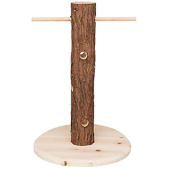 טריקסי כוח עץ חיים טבעיים (ציפורים, ציפור כלוב אביזרים, Perches & הודעות)
