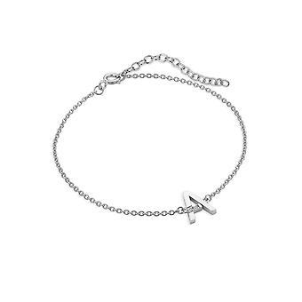 Hot Diamonds Diamond Letter A Bracelet DL612