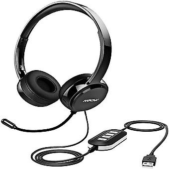 Usb sound card wire control / 3.5mm earphone hole voice microphone computer mobile phone tablet wired headset