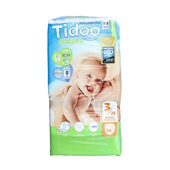 Midi Night & Day Diapers (T3) 4-9kg 56 units