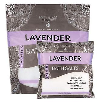 Soothing Touch Bath Salts, Lavender 32 Oz