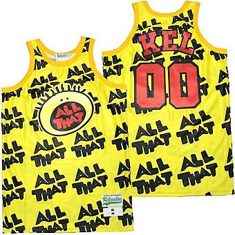 Men's Kel All #00 That All Over Again Basketball Jersey S-xxl,90s Hip Hop Clothing For Party, Stitched Letters And Numbers