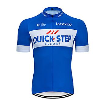 Pro Bicycle Team Short Sleeve Maillot Ciclismo Men's Cycling Jersey