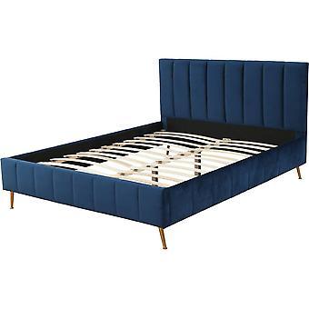 """Łóżko """"Melissa"""" - 180 x 200 cm - Ciemnoniebieski"""