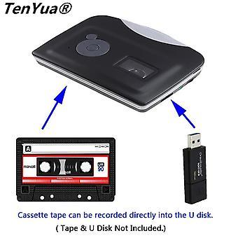Usb Cassette Capture Cassette Tape-to-mp3 Converter Into Computer Stereo Hifi
