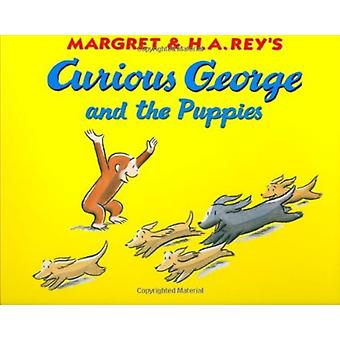 Curious George and the Puppies Lap Edition by H A Rey