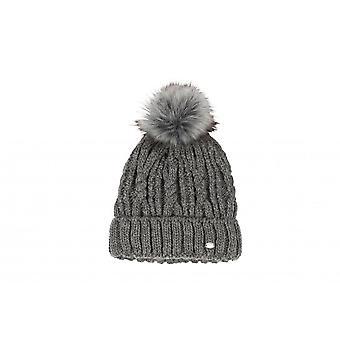 Pikeur Womens Bobble Hat - Middle Grey