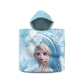 Poncho-Towel with Hood Frozen Cotton (60 x 120 cm)