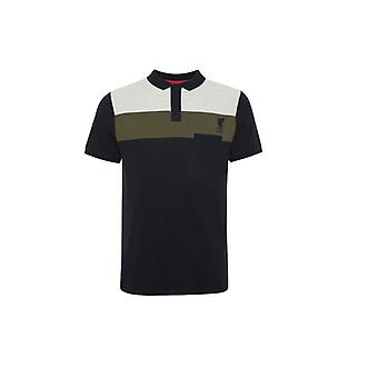 Liverpool FC Farve Block Polo Herre Navy L