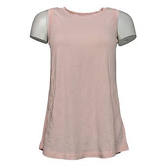 Modern Soul Women's Top Tunic A Line Sleeveless Tank Pink 653941
