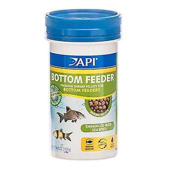 API Bottom Feeder Premium Shrimp Pellet Food - 4 oz