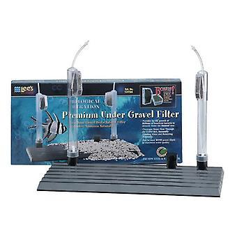 Lees Premium Under Gravel Filter for Aquariums - 15/20H gallon