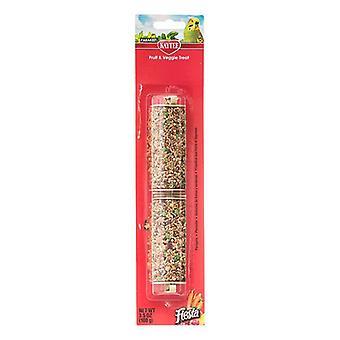 Kaytee Fiesta Fruit & Veggie Treat Stick - Parakeet - 3.5 oz