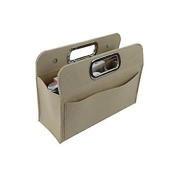 Insert Bag met zakken Portemonnee Organisator Handtas Tote Portable Felt File Bags Multi Pocket