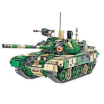 Seria pojazdów wojskowych Zestaw czołgów głównego czołgu Klocki Klocki Zabawki Chłopiec Zabawki edukacyjne Zabawki