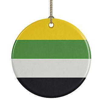 Holiday ornament displays stands carolines treasures ck8002co1 skiliosexual pride ceramic ornament