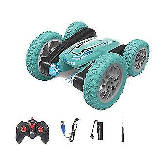 Afstandsbediening auto speelgoed 2.4g stunt drift afstandsbediening wiel auto dubbelzijdig rijden stunt 360 °
