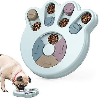 Slow Dog Feeder Bowl Distributeur de nourriture Jouets interactifs d'entraînement de puzzle