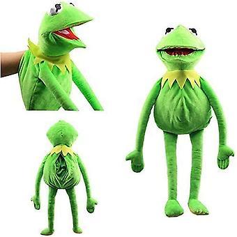 カエルぬいぐるみ手人形子供の役割インタラクティブ親子おもちゃ