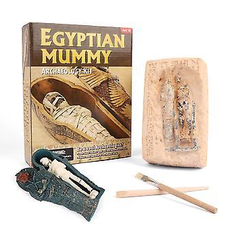 Altägyptische archäologische Mumien ausgrabung Spielzeug