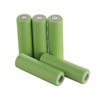 5pcs Aa 2500mah 1.2v Ni-mh Power Batteriezelle wiederaufladbar 9a 49x14mm Anwenden auf Elektrowerkzeuge Elektrische Bohrmaschine Elektrische Hammer Staubsauger Kehrmaschine