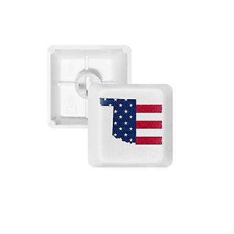 Yhdysvaltain kartta E Keycap Näppäimistö