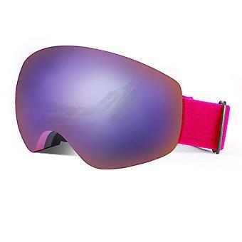 משקפי סקי גברים ונשים משקפי סקי משקפי סקי משקפי מגן קצרים משקפי מגן ציוד