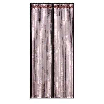 Abnehmbarer selbstklebender Fensterschirm Türvorhang Velcro Magnet (80 * 210cm)