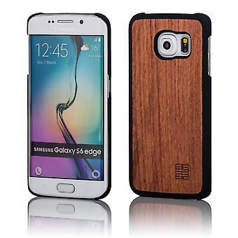 32nd Wooden Back case for Samsung Galaxy S6 Edge Plus (SM-G928) - Cherry