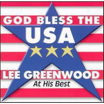Lee Greenwood - Gud velsigne Usa på hans bedste [CD] USA import