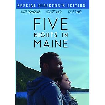 Cinq nuits en importation USA Maine [DVD]