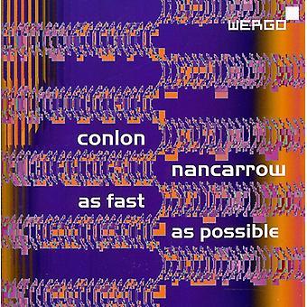 C. Nancarrow - Conlon Nancarrow: As Fast as Possible [CD] USA import