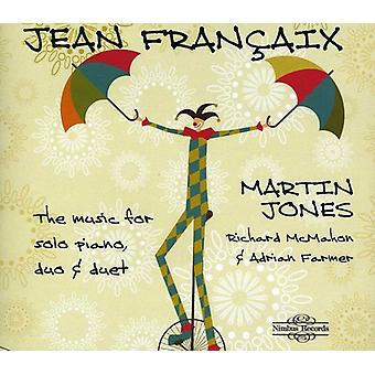 J. Francaix - Fran Aix: The Music for Solo Piano, Duo & Duet [CD] USA import