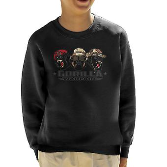Gorilla Warfare Kid's Sweatshirt