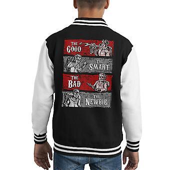 Wranglers de Ghost Busters bonne Smart Varsity Jacket de Bad Newbie Kid